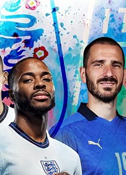 欧洲杯2021决赛:意大利vs英格兰